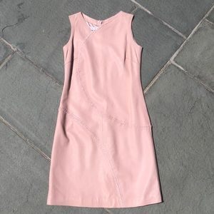 Escada Sport leather dress
